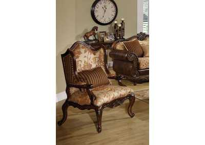 Remington Cherry Chair w/1 Pillow