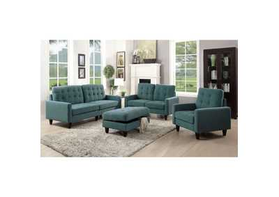 Image for Nate Teal Sofa