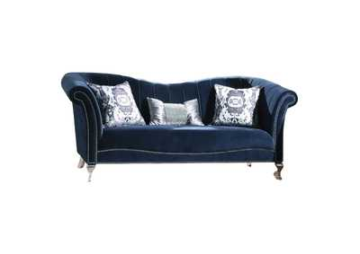 Image for Jaborosa Silver Loveseat W/3 Pillos