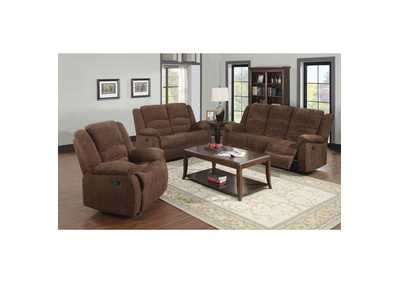Bailey Brown Reclining Loveseat