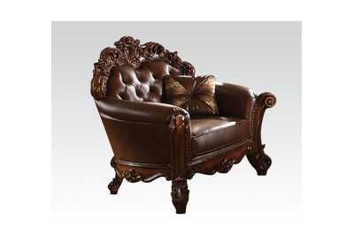 Vendome Cherry/Cherry Chair w/1 Pillow