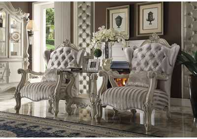 Image for Versailles Ivory Chair w/1 Pillow
