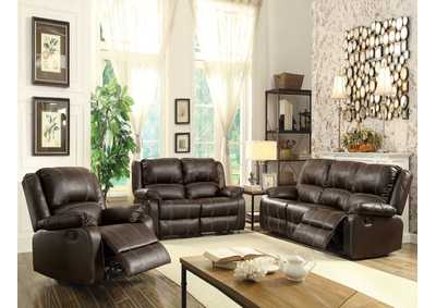 Image for Zuriel Brown Rocker Recliner