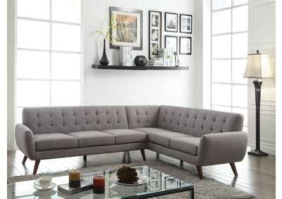 Image for Essick Gray Sectional Sofa