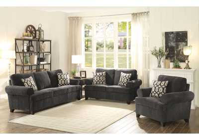 Image for Alessia Gray Loveseat w/2 Pillow