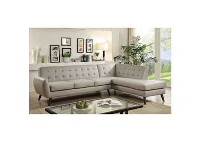 Image for Essick II Gray Sectional Sofa