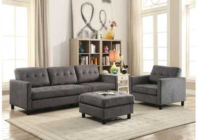 Image for Ceasar Gray Sectional Sofa