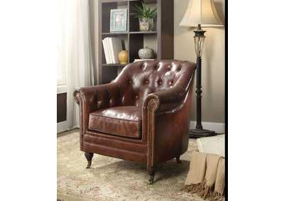 Aberdeen Vintage Brown Chair
