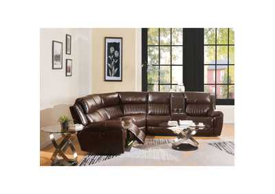 Image for Lonna Brown Sectional Power Reclining Sofa