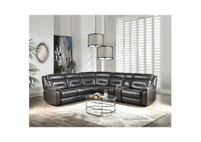 Image for Imogen Gray Sectional Power Reclining Sofa