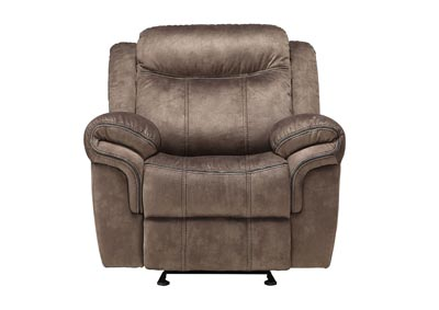 Image for Zubaida Two-Tone Chocolate Glider Recliner