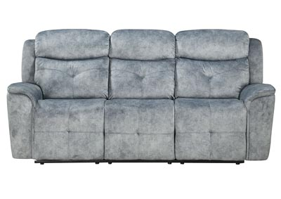 Image for Mariana Silver Gray Reclining Sofa