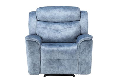 Image for Mariana Silver Blue Recliner