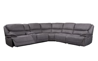 Image for Neelix Seal Gray Sectional Power Reclining Sofa