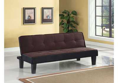 Hamar Chocolate Flannel Adjustable Sofa