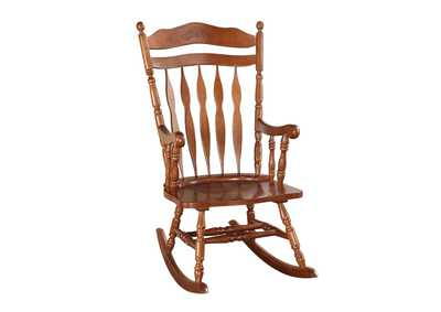 Kloris Walnut Rocking Chair
