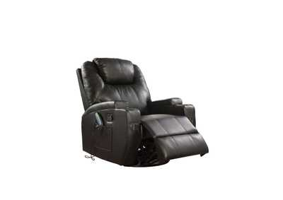 Image for Waterlily Black Rocker Recliner