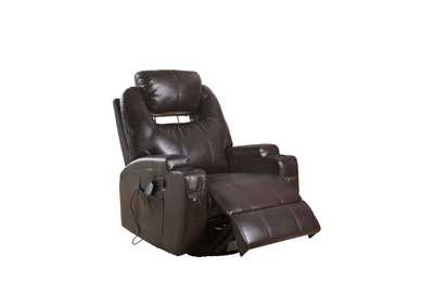 Image for Waterlily Brown Rocker Recliner
