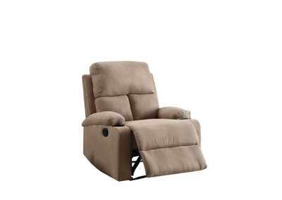 Rosia Light Brown Recliner