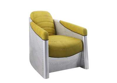 Brancaster Yellow Accent Chair