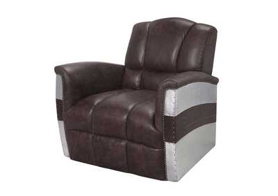 Brancaster Retro Brown Accent Chair