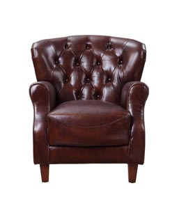 Brancaster Brown Accent Chair