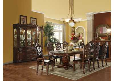 Vendome Cherry Dining Table w/6 Side Chair & 2 Arm Chair