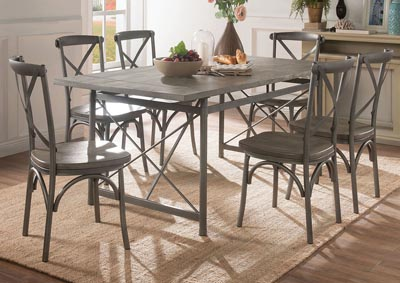 Image for Kaelyn II Gray Oak/Sandy Gray Dining Table