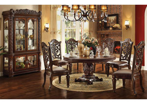"Image for Vendome Cherry Round 60"" Dining Table"