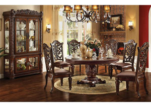 "Image for Vendome Cherry Round 72"" Dining Table"