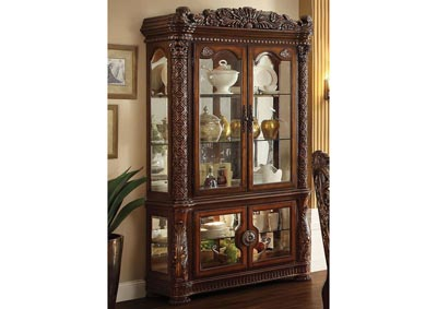 Vendome Cherry Curio Cabinet