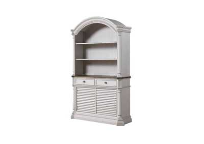 York Shire Charcoal/Antique White Hutch and Buffet