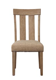 Image for Nathaniel Maple Slat Back Side Chair (Set of 2)