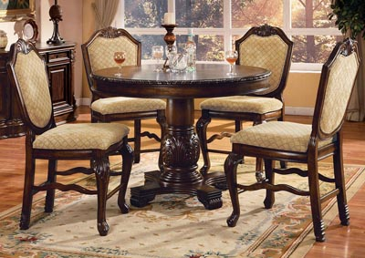 Chateau De Ville Espresso Counter Chair (Set of 2)