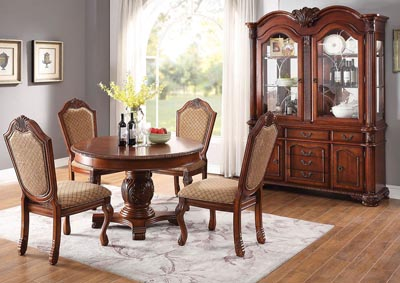 Image for Chateau De Ville Cherry Side Chair (Set of 2)