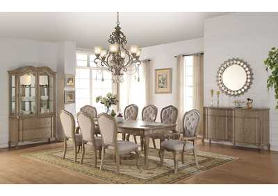 Image for Chelmsford Antique Taupe Dining Table w/2 Armed Chair & 6 Side Chair