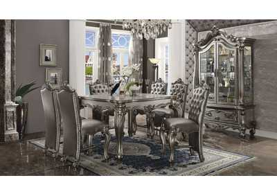 Image for Versailles Antique Platinum Curio Cabinet