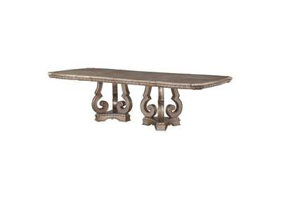 Northville Antique Champagne Dining Table