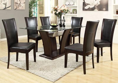 Malik Black Side Chair
