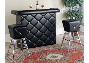 Hali Black Bar Table