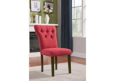 Effie Red Side Chair