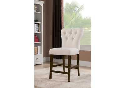 Effie Beige Counter Height Chair