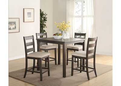 Salileo 5 Piece Counter Height Dining Set
