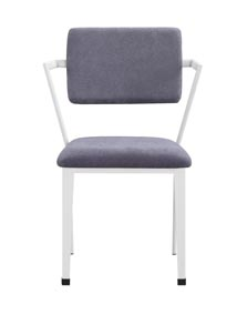 Image for Cargo Gray/White Dining Chair (Set of 2)