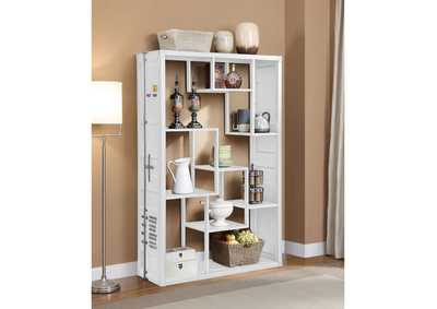 Cargo White Shelf Rack/Book Shelf
