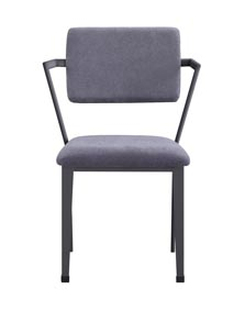 Image for Cargo Gunmetal Dining Chair (Set of 2)