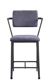 Cargo Gunmetal Counter Chair (Set of 2)