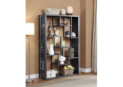 Image for Cargo Gunmetal Shelf Rack/Book Shelf