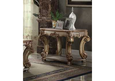 Image for Vendome Gold Patina End Table