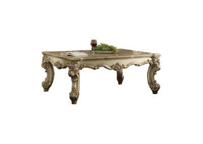 Vendome II Gold Patina & Bone Coffee Table